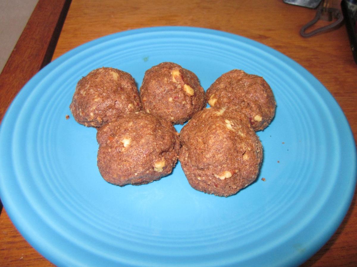 chocolate espresso pecan balls