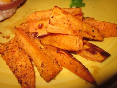 Post-Call and Sweet PotatoFries
