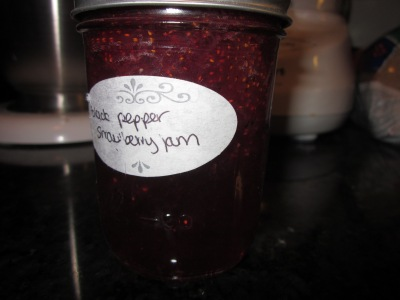 Black Pepper Strawberry Jam
